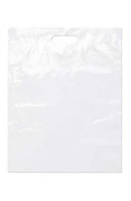 Rutan White Plastic Shopping Bag 1000ct