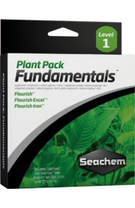 SeaChem Plant Pack Fundamentals 100ml 3pk