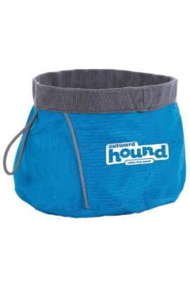 Outward Hound Port-A-Bowl Small Blue