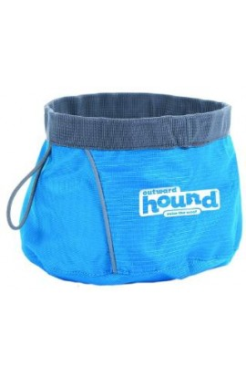 Outward Hound Port-A-Bowl Medium Blue