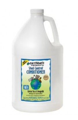 Earthbath SHED CONTROL Conditioner, Green Tea Scent with Awapuhi 1 Gallon