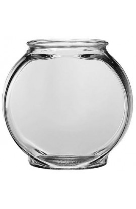 Anchor Hocking 1/2 Gallon Drum Glass Bowl 2Pk