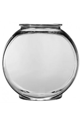 Anchor Hocking 1 Gallon Drum Glass Bowl 2Pk