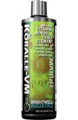 Brightwell Koralle-VM Vit & Mineral Supplement 8 oz. 250 ml.