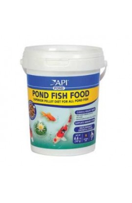 API Pond Fish Food 4 MM Pellet 6.6 oz.