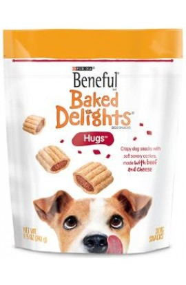 Beneful Baked Delights Hugs 4/8.5Z