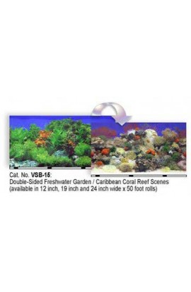 "Background 12"" In X 50ft Coral Reef/fw Garden"
