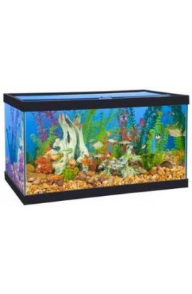 Marineland Perfecto 34 Gallon Tank Black 30x18x16