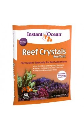 Instant Ocean 50 Gallon Reef Crystals Sea Salt (3pc)