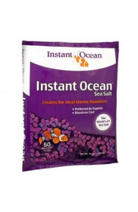 Instant Ocean 50 Gallon Sea Salt (3pc)