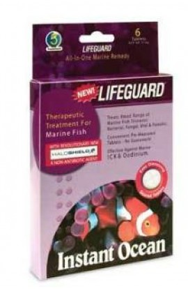 Instant Ocean Lifeguard Saltwater Remedy 6 Tablet