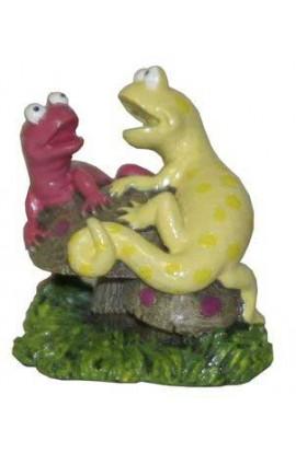 Resin Ornament - Aqua Kritters Ii Salamanders