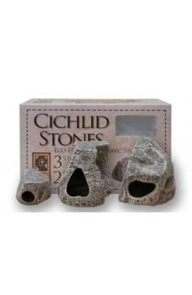 Underwater Galleries Cichlid Stone 3 - pack