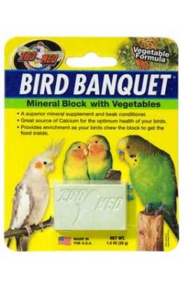 Bird Banquet Vegetable Mineral Block Small