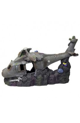 Resin Ornament - Super Sized Sunken Helicopter