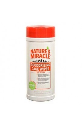 Nature's Miracle Bird Cage Wipes 35 Count