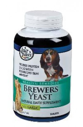 Four Paws Brewers Yeast/Garlic 500ct