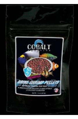 Cobalt Brine Shrimp Pellets - Small - 11 oz.