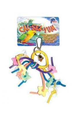 Prevue Prevue 60501 Cal-Sea-Yum Urchin Bird Toy