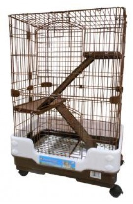 Pet Tek Dreamhome Chinchilla Cage 3 Level