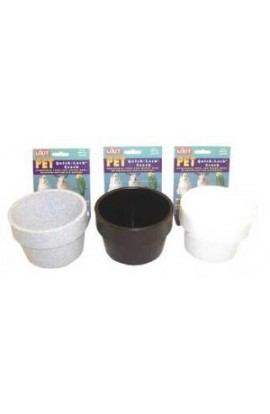 Lixit Quick-Lock Crock 10oz Assorted