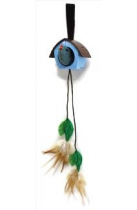 Petlinks Cat Toy Cuckoo Catnip Door Hanger