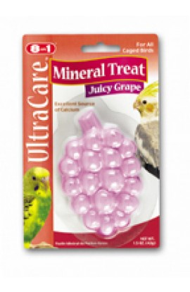 Mineral Treat For All Birds 1.5oz Grape Flvaor
