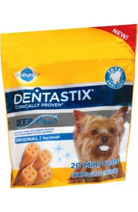 Pedigree Dentastix Deep Clean Original Mini 11.5oz 20 Count