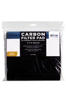 Elive Carbon Filter Pad 10x18""