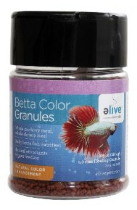 Elive Betta Food .65z Can