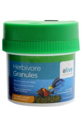 Elive Herbivore Granule Food 3.5z