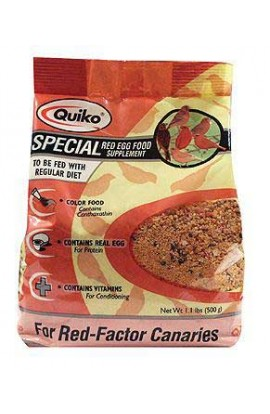 Quiko Special Red Egg Food (red Factor Canaries)