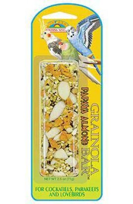Grainola Papaya Almond Bar 2.5oz (card)